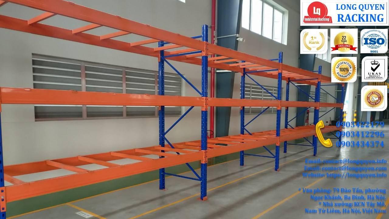 Kệ Pallet Chọn Lọc (Selective Pallet Rack) lắp ở kho Cty Mai Đến 12