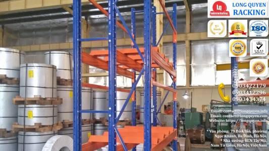 Kệ Phụ Tùng Thiết Bị Điện lắp tại công ty Biến Thế Hà Nội (2)