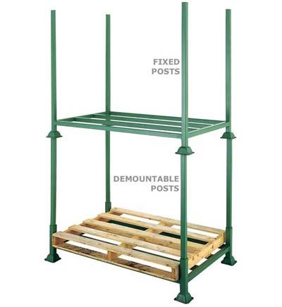 Pallet sắt xếp chồng (Post Pallet)