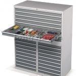 Tủ sắt nhiều ngăn kéo tủ để phụ kiện nhỏ