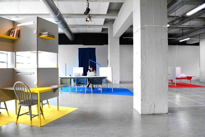 thiết kế nội thất văn phòng trong khu kho xưởng 1