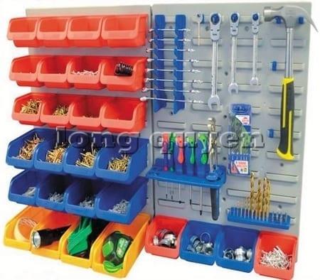Tấm panel để dụng cụ và hộp đồ 1