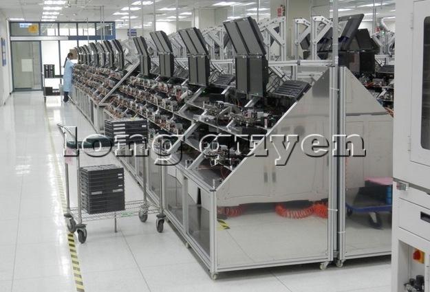 Hệ thống bàn sản xuất lắp ráp hàng điện tử và viễn thông 14