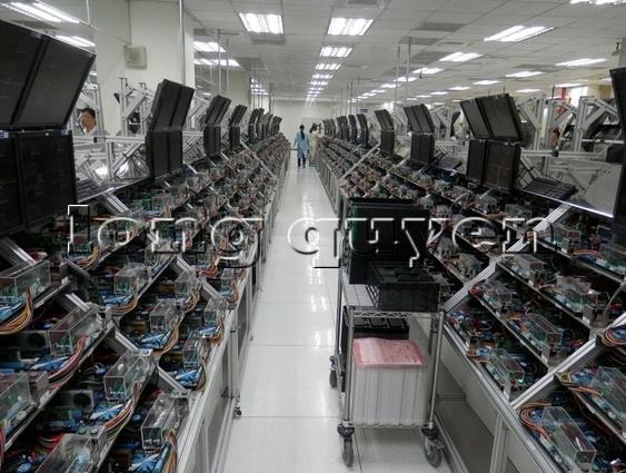 Hệ thống bàn sản xuất lắp ráp hàng điện tử và viễn thông 6