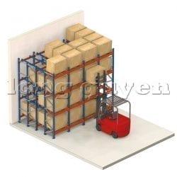 Giá Kệ Để Pallet Sàn Đẩy (Push Back Rack) (3)