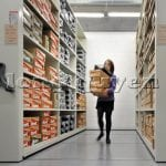 Giá kệ siêu thị cửa hàng sàn di động