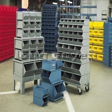 Hộp để phụ tùng ốc vít trong lưu trữ kho hàng và sản xuất công nghiệp