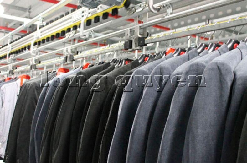Băng chuyền treo dây băng tải công nghiệp treo cao (6)