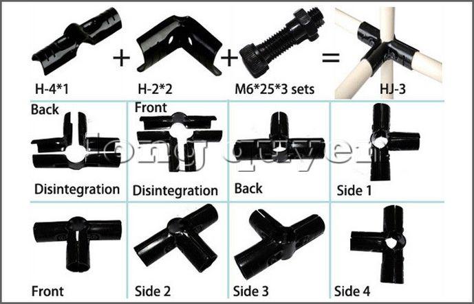 Hệ thống ống thép lắp ráp với khớp nối lắp ráp đa năng (2)