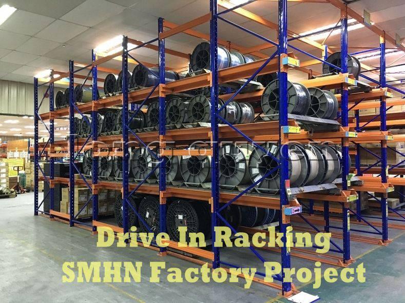 Giá kệ Drive In chứa pallet để cuộn dây nhà máy SMHN (1)