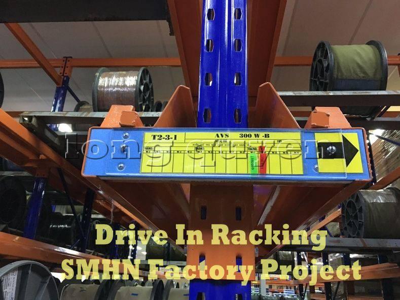 Giá kệ Drive In chứa pallet để cuộn dây nhà máy SMHN (5)