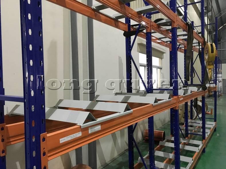 Kệ sắt kệ để hàng kệ kho hàng lắp đặt tại nhà máy thiết bị điện Sanaky (5)