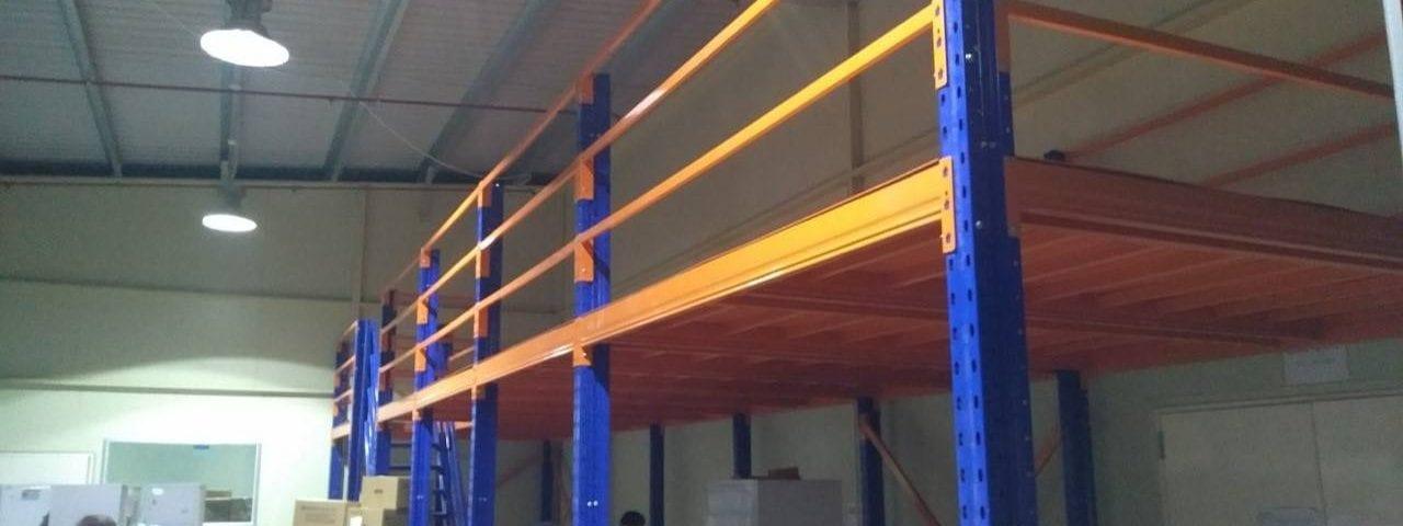 Kệ sàn kho sàn tầng lửng mezzanine san kho lắp ráp công ty Vina TC (1)