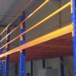 Kệ sàn kho sàn tầng lửng mezzanine sàn kho lắp ráp tại công ty Vina TC