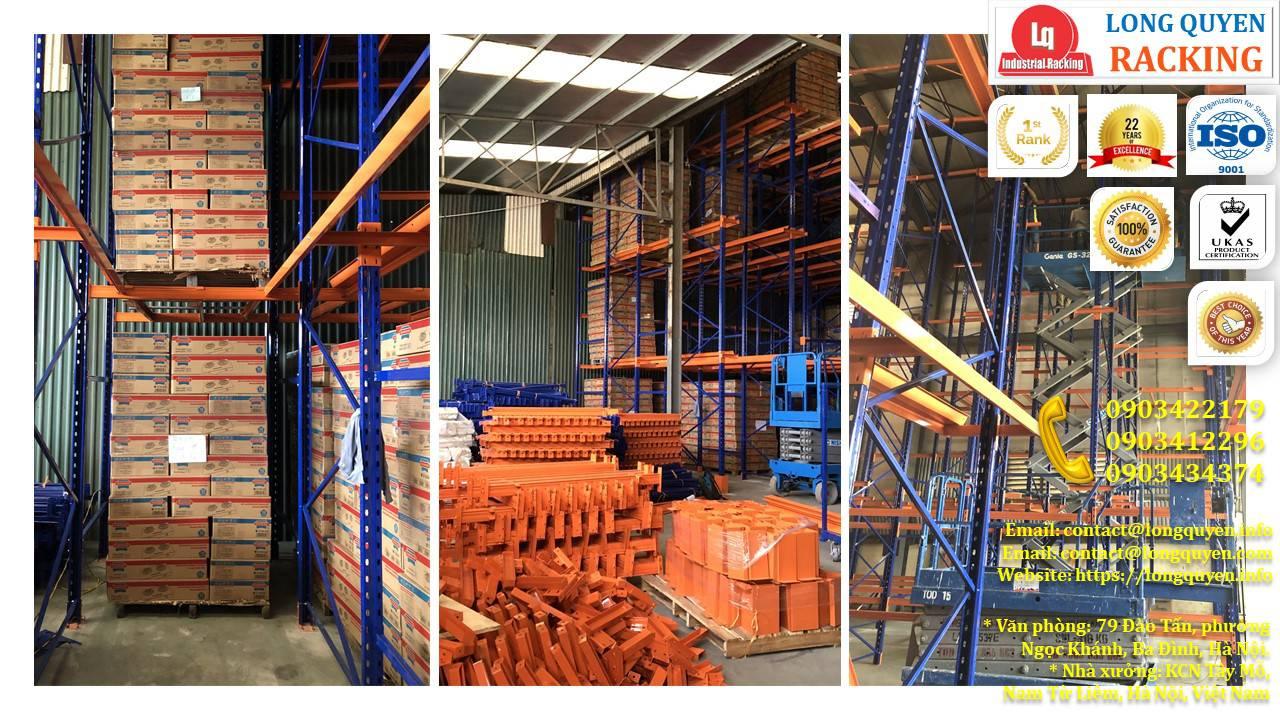 Kệ kho kệ Drive-In cao 10m lắp đặt tại công ty Sunhouse (7)