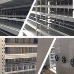 Kệ ray trượt 6 tầng kệ trượt kéo đa năng lắp tại Cty CPTM Gia Lâm