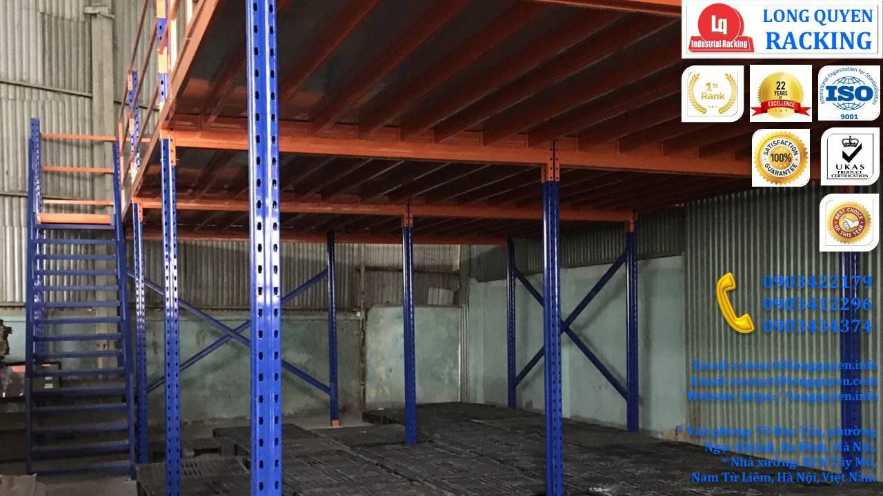 Làm gác xép sắt, sàn gác xép công nghiệp công ty Toàn Thắng (1)