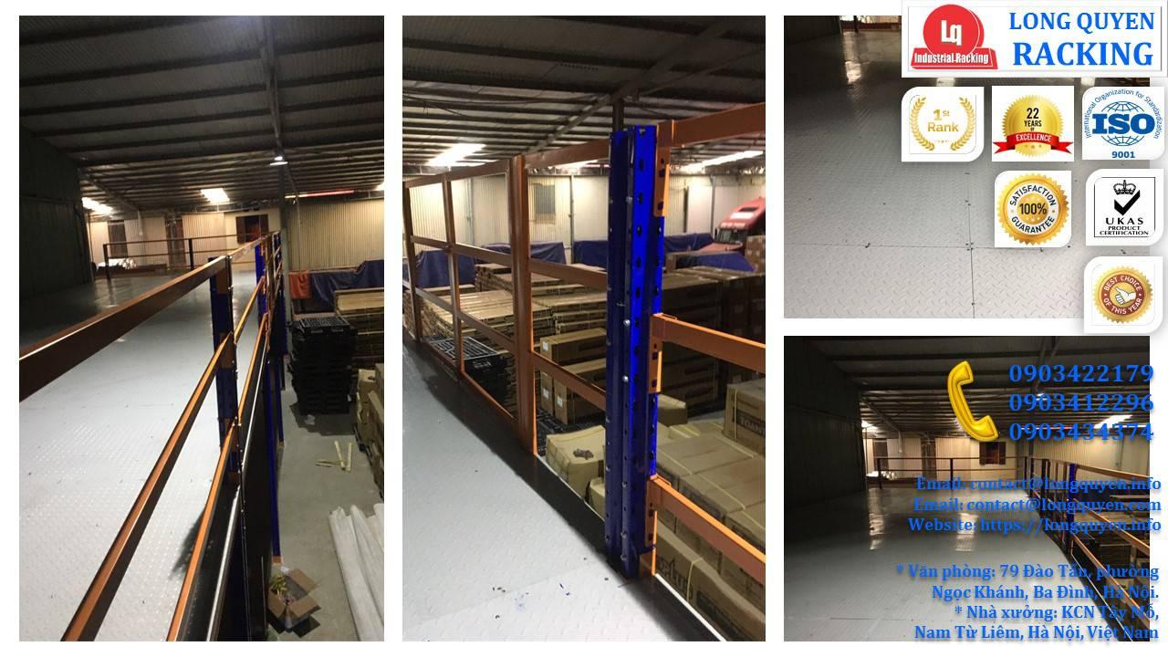 Làm gác xép sắt, sàn gác xép công nghiệp công ty Toàn Thắng (11)