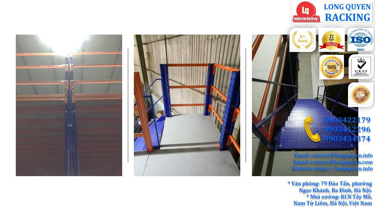 Làm gác xép sắt, sàn gác xép công nghiệp công ty Toàn Thắng (12)
