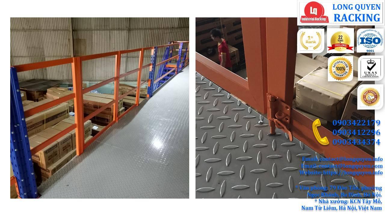 Làm gác xép sắt, sàn gác xép công nghiệp công ty Toàn Thắng (3)