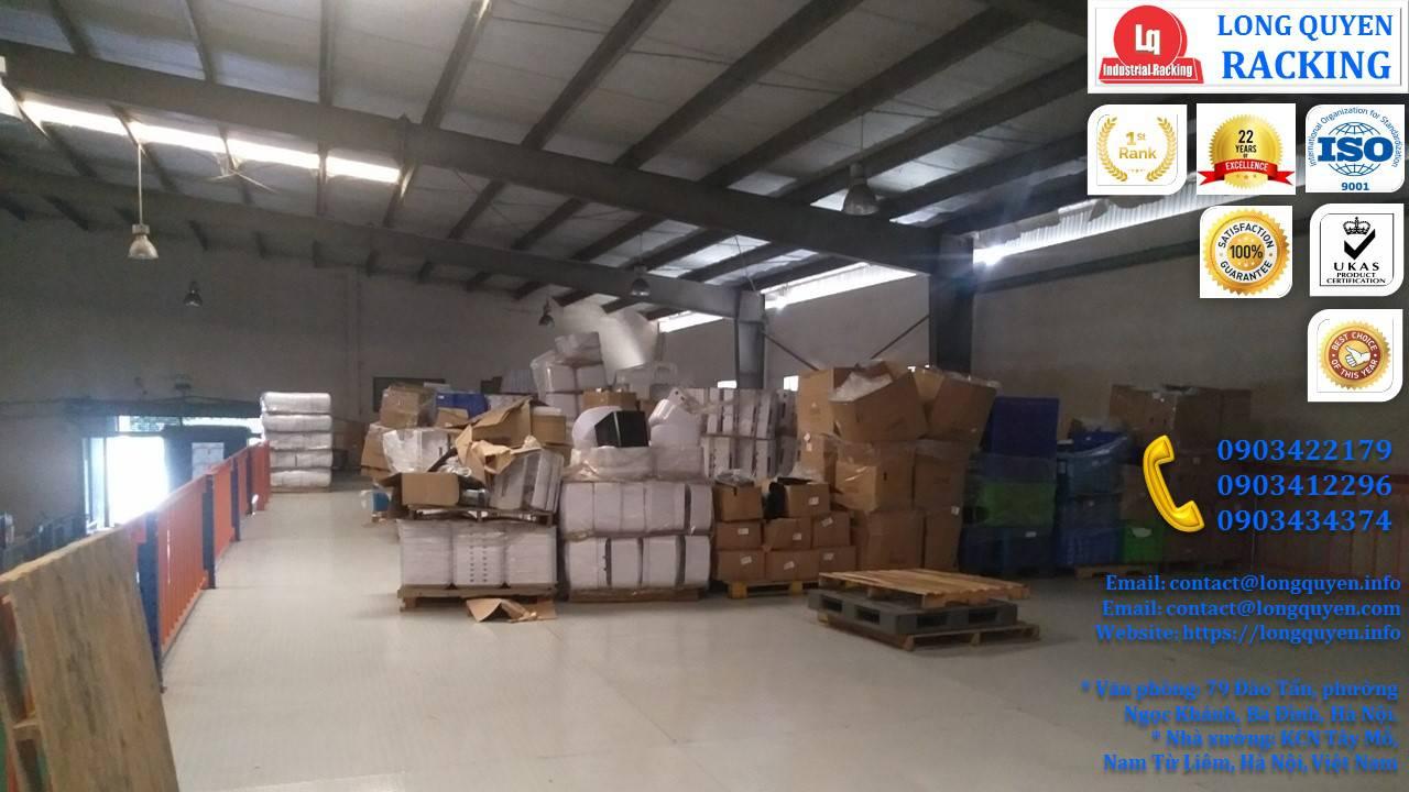 Tầng lửng gác xép sàn mezzanine công nghiệp công ty Ferroli (13)