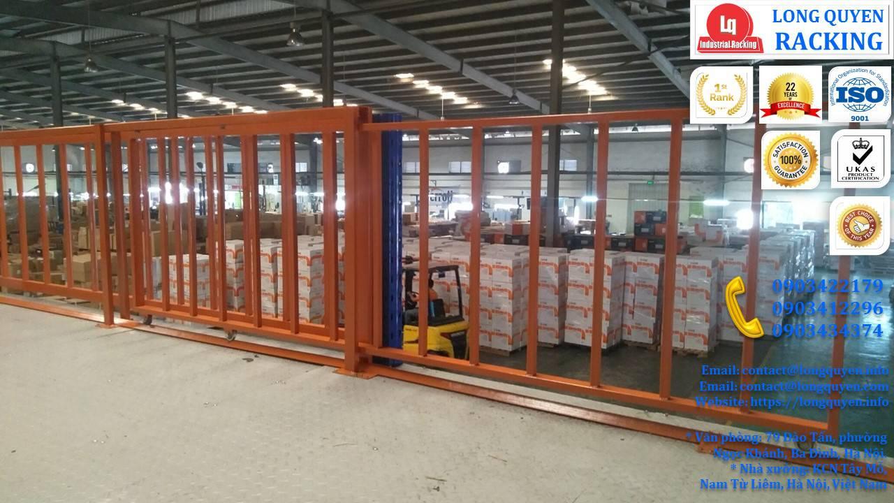 Tầng lửng gác xép sàn mezzanine công nghiệp công ty Ferroli (5)